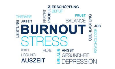 Burnout Stress Grafik