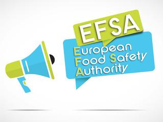 megaphone : EFSA