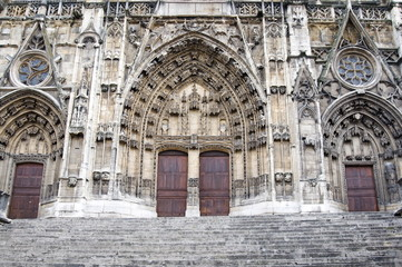 Cathedrale de Saint Maurice (cathedral), Vienne, Rhone Valley, France, Europe