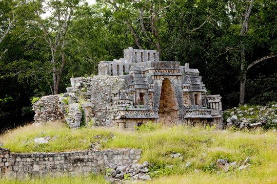 Gateway Arch, Mayan ruins, Labna, Yucatan, Mexico