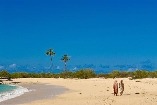 Beautiful sandy beach at Ngazidja, Grand Comore, Comoros
