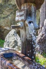 Trinkwasser-Brunnen bei der Heilig Geist Kirche