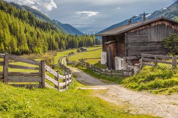 Alter Bergbaunerhof im Hinteren Ahrntal