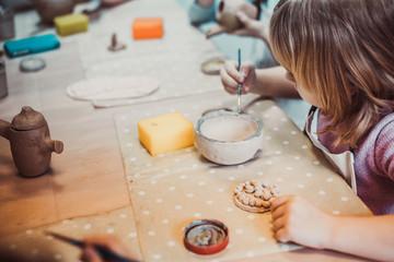 children's hands sculpts