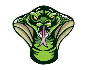Leadership Animal Logo - Hypnosis Cobra Character