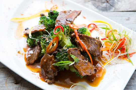 Chinese spicy fried meat