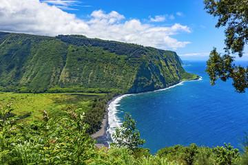 Waipio Valley Lookout Big Island Hawaii USA