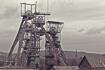 Old coal mine