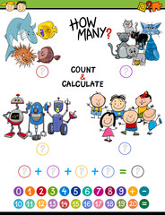 math activity for children
