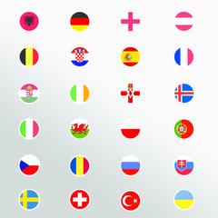european flag euro 2016
