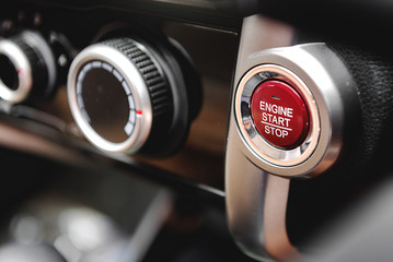Push Start and Stop,Button to start