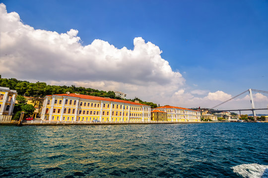 Galatasaray University near Bosphorus Bridge