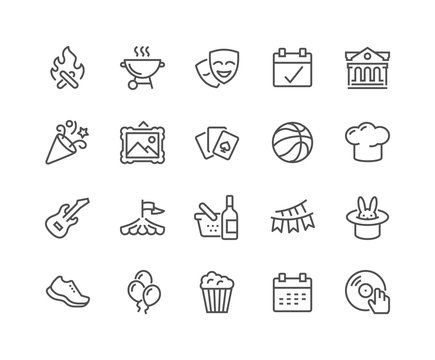 Line Event Icons