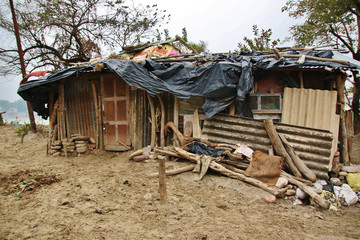 slum of poor people