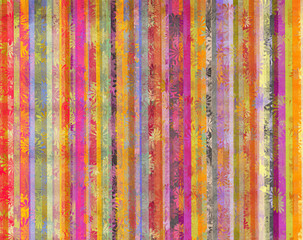 Photo sur Aluminium Surrealisme Vertical colorful lines background