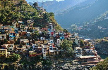 Houses of Devprayag