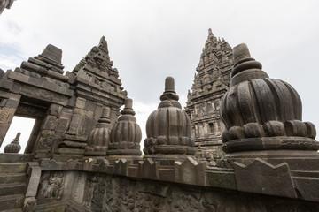 details of Prambanan temple
