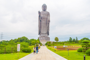 "The world of the Great Buddha ""Ushiku Buddha"" 世界一の大仏 「牛久大仏」"