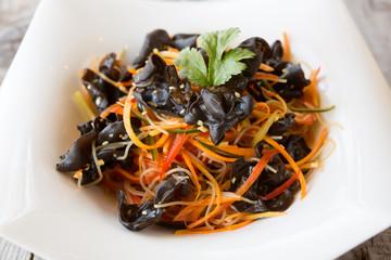 Chinese mushroom snack