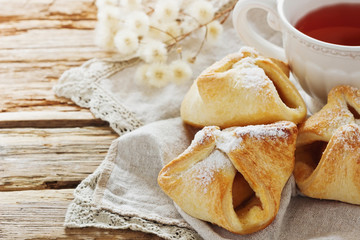 Freshly  scones and tea