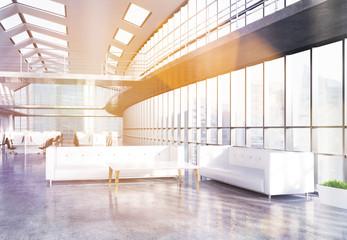 Keuken foto achterwand Trappen Office lobby toning