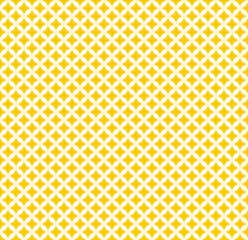 Marokko Muster - Kreise - gelbweiss