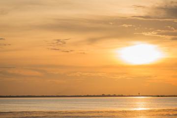 Sunset or sunrise Sky Background,sunset or sunrise