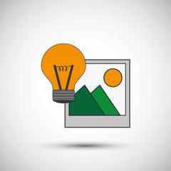 Digital Marketing design. Media icon. Colorfull illustration, graphic