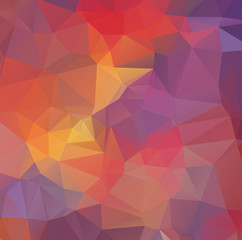 Background abstract geometric rumpled triangular polygon style