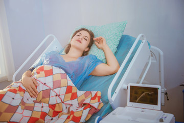 birth, pregnant woman in hospital