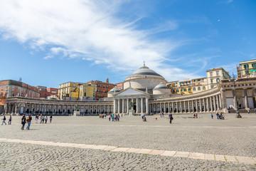 Fotorollo Neapel Piazza del Plebiscito à Naples
