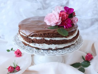 The Rococoa Cake, Delicious chocolate cake.