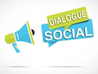 mégaphone : dialogue social