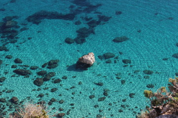 Mille colori del mare Sardo.
