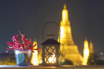 Wat Arun at twilight, Bangkok, Thailand