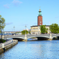 Wall Mural - View of Stockholm