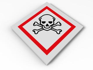 Toxic sign illustration