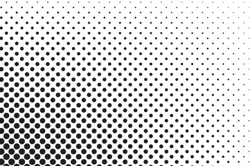 Big dots halftone vector background. Overlay texture.