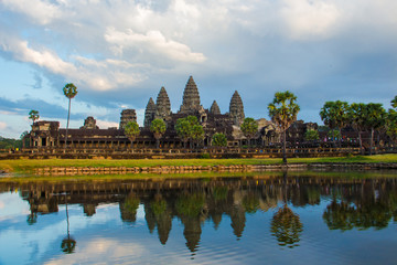 Angor Wat, ancient architecture in Cambodia