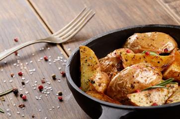 Pan Fried potatoes