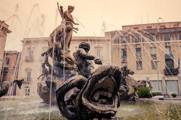 Syracuse, Sicily, Italy: Archimede Square