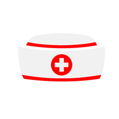 Vector Nurse hat icon