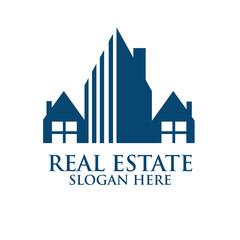 HOME -Real estate logo vector