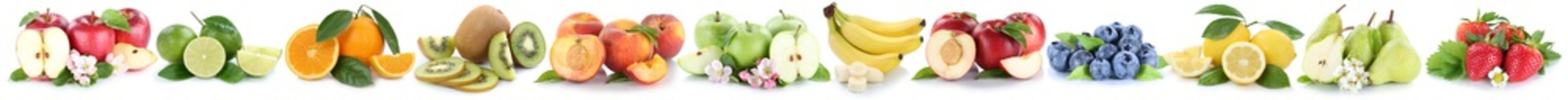 Früchte Apfel Orange Äpfel Orangen Bananen Obst Frucht in eine