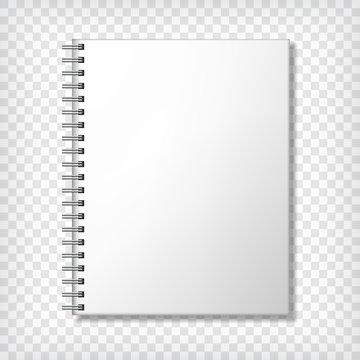 Notebook blank mockup