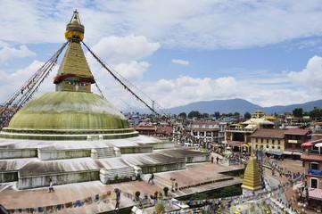 Boudhanath, UNESCO World Heritage Site, Bagmati, Central Region, Nepal, Asia
