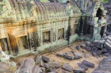 Ta Prohm temple, Angkor, UNESCO World Heritage Site, Siem Reap, Cambodia, Indochina, Southeast Asia, Asia