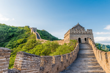 Spoed Fotobehang China Great Wall of China