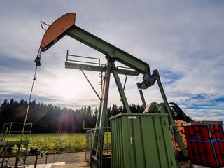 Pumpe zur Förderung von Erdöl