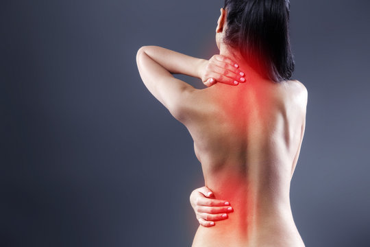 Creative concept for body pain